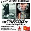 Homenatge a Lleida el diumenge 22