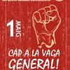 PER UNA VAGA GENERAL OBERTAMENT POLÍTICA