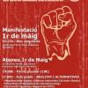 """1er de Maig: """"Treballador, treballadora; la teva lluita decideix"""""""