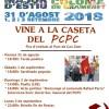 Vine a la caseta del PCPC de les festes de Sta. Coloma 2018