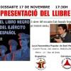 """Presentació del llibre: """"El libro negro del Ejército Español""""."""