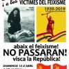 Homenatge als combatents republicans i a les víctimes del Feixisme