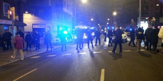 Davant la repressió contra el Moviment Popular de Sant Martí