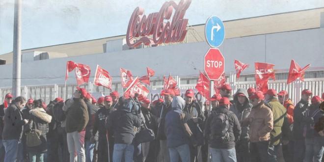 En suport de la lluita obrera de ESMASA i Coca-Cola