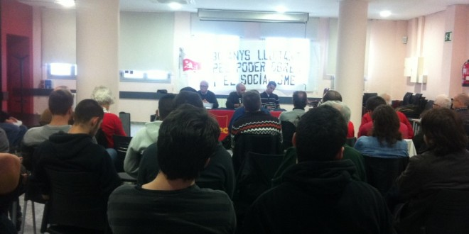 Crònica acte 30 aniversari del PCPE a Barcelona