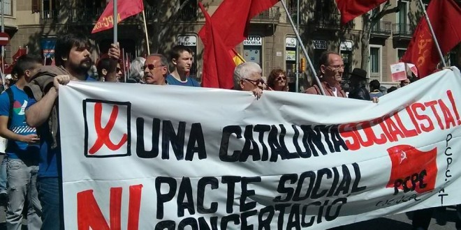 Crònica manifestació 6 d'abril a Barcelona