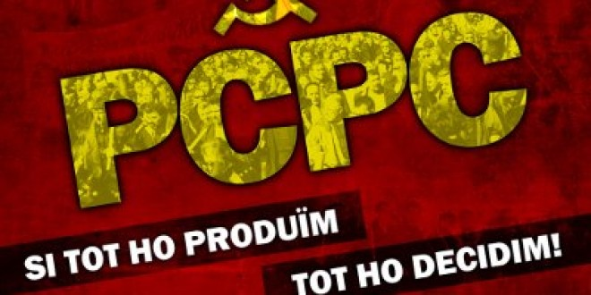 EL PCPC FA UNA CRIDA A FAVOR DE LA VAGA GENERAL