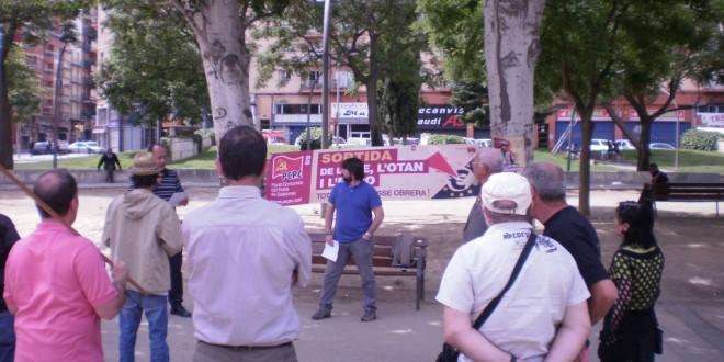 Crònica del míting a Lleida