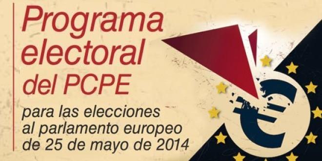 Resum del programa electoral del PCPE