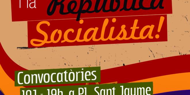 Pel poder Obrer i la República Socialista