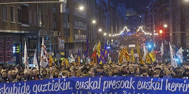 No a la repressió contra la esquerra independentista basca