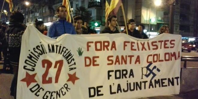 Crònica de les jornades antifeixistes de Santa Coloma de Gramenet