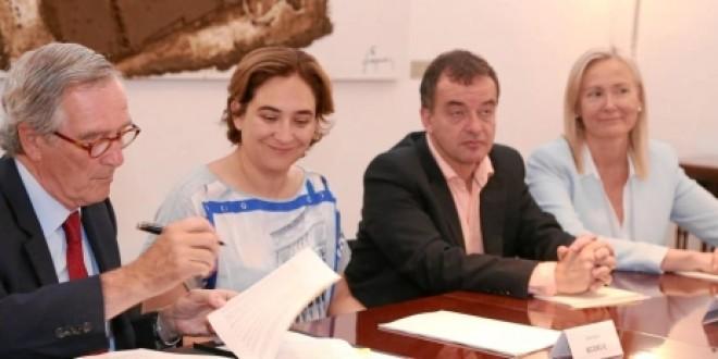 Davant l'acord dels partits amb la continuïtat del Congrés de Telefonia Mòbil