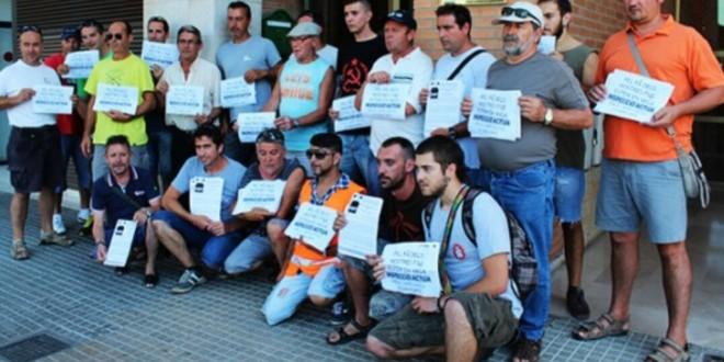 Vaga treballadors d'EMTE de Tarragona.