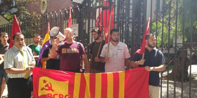Vídeo i fotos de l'acte per l'alliberament d'Enrique López