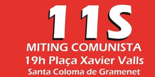 11 de setembre de 2015:  la classe obrera catalana necessita organitzar la contraofensiva