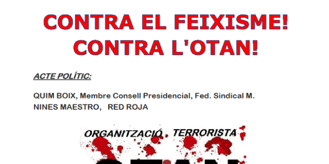 Contra el feixisme, contra l'OTAN!