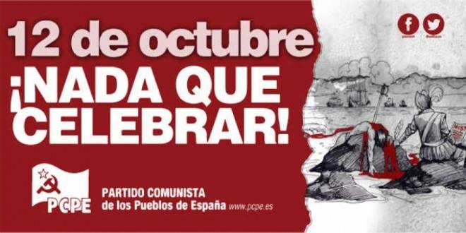 12 d'octubre, res a celebrar