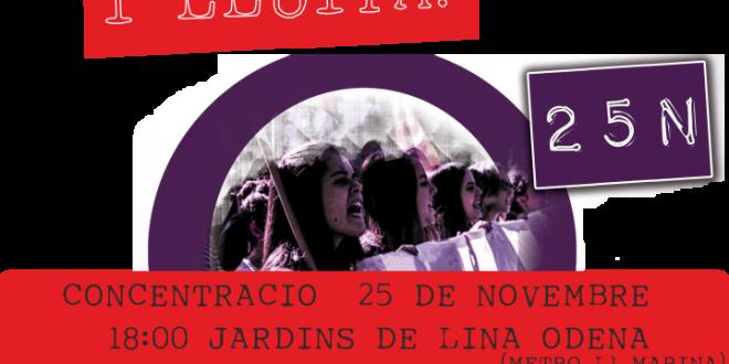 25N: Dia Internacional de l'Eliminació de la Violència contra la Dona