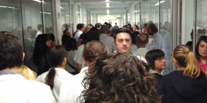 Nota de solidaritat amb els treballadors de l'Hospital Sant Joan de Reus