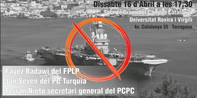 Xerrada a Tarragona: La mediterrània zona de guerra