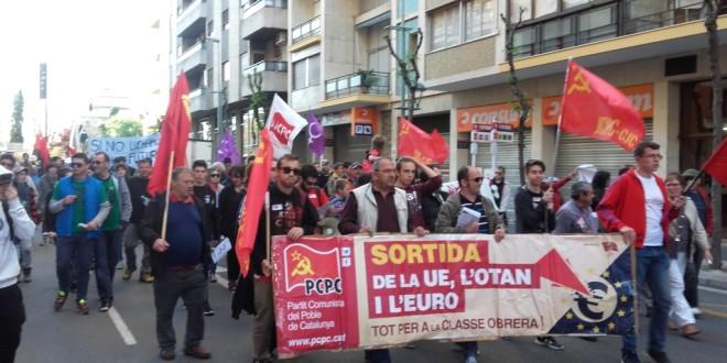 1er de Maig a la província de Tarragona