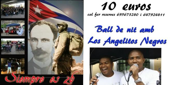 Festa Nacional de Cuba a Rubí el 23 Juliol.