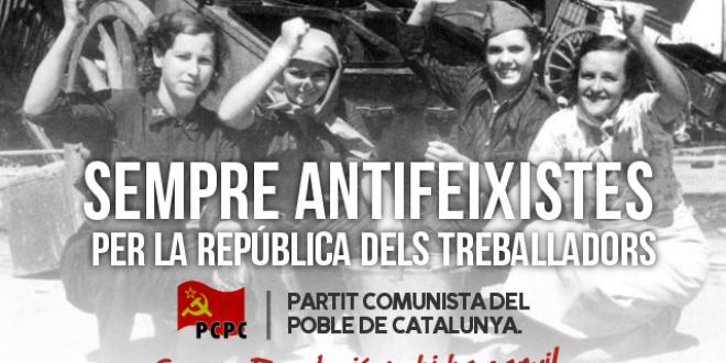 80 Anys de l'aixecament feixista del General Franco