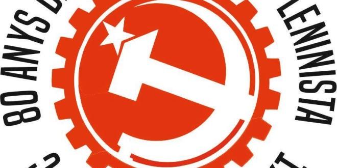 1936 PSUC – 2016 PCPC 80 anys de Partit Marxista – Leninista!