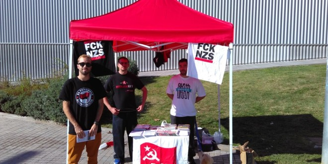 Presentació dels comunistes a Calafell