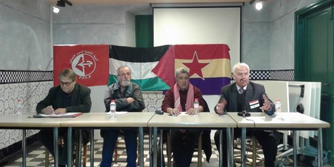 99º Aniversari de la Revolució d'Octubre: Acte polític a Barcelona.