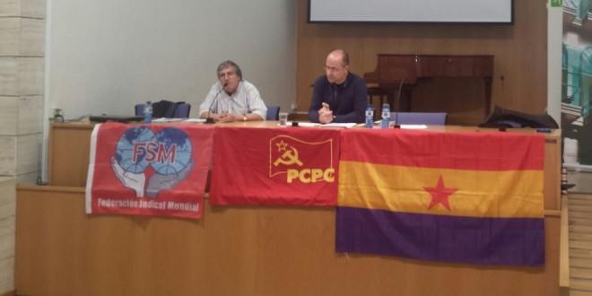 CRÒNICA ACTE 99 ANIVERSARI DE LA REVOLUCIÓ SOVIÈTICA A LLEIDA