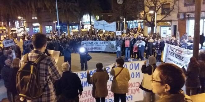 Campaña del PCPC de Sta. Coloma ante los abusos de las eléctricas