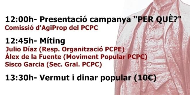 Presentació campanya i acte polític