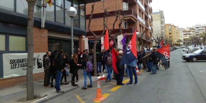 Crònica concentració als jutjats de Tarragona