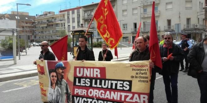 Els comunistes al 1 de Maig a Tortosa