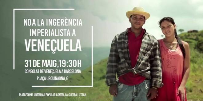Solidaritat amb el poble veneçolà, endavant amb la solidaritat internacionalista!