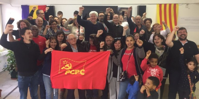 El PCPC present al 1 de Maig. Res avança sense la teva lluita!