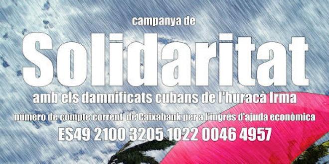 Solidaritat amb el poble de Cuba