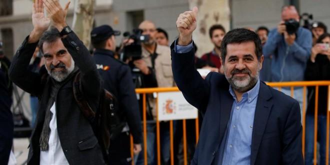 Libertad para Jordi Sánchez y Jordi Cuixart