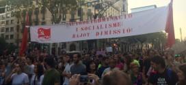Crònica del 3 octubre a Barcelona