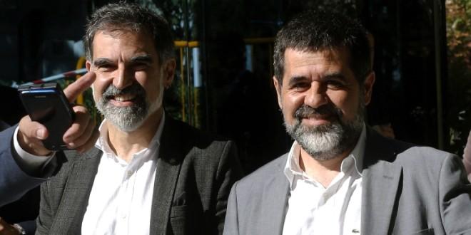 La bèstia Rojigualda ataca de nou. Llibertat Jordi Sánchez i Jordi Cuixart