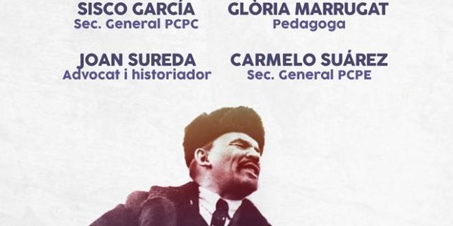 Acte central a Barcelona: 100 anys de la Revolució Socialista