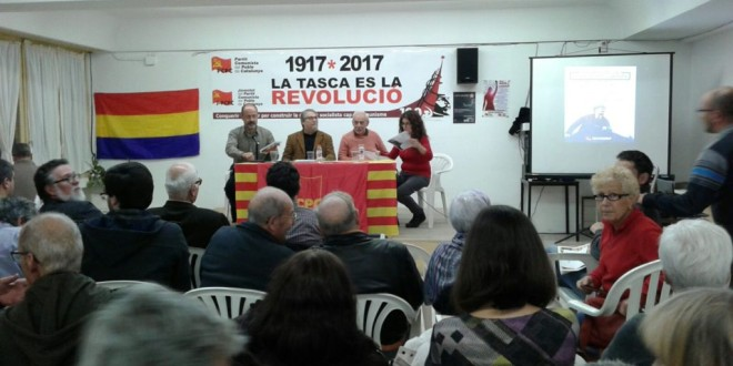 Centenari de la Revolució d'Octubre de 1917: El PCPC a l'ofensiva política per assolir el poder obrer!