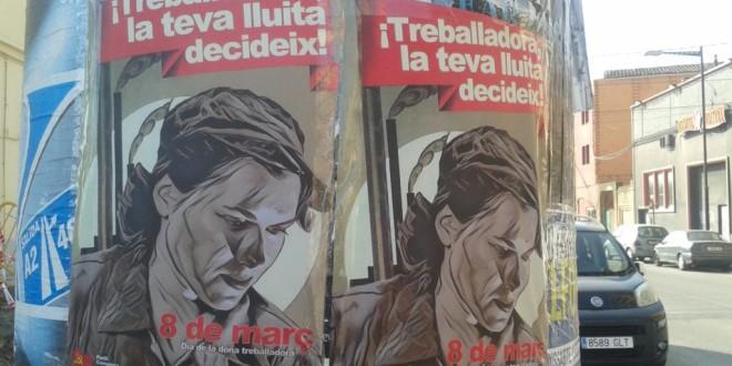 Agitació a Balaguer pel 8 de Març