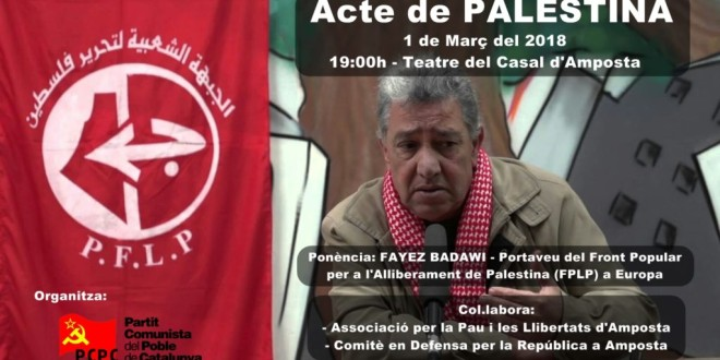 Acte de Palestina a Amposta