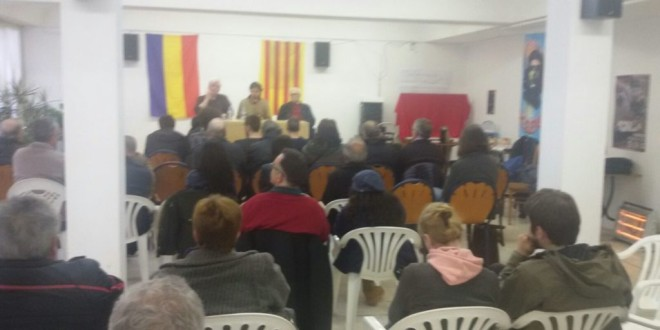 Crònica acte 14 d'Abril a Barcelona