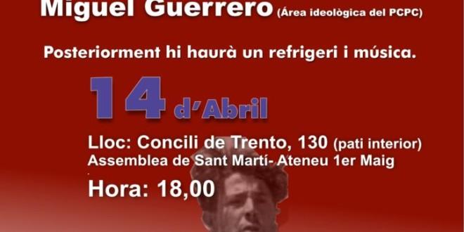 Acte públic i debat: Construïm la República dels treballadors