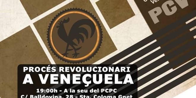 """13 de Juny Acte Polític: """"El procés revolucionari a Veneçuela"""""""