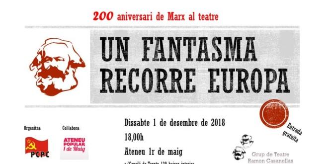200 aniversari de Marx al teatre